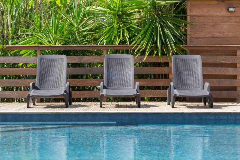 Bungalow avec piscine Guadeloupee