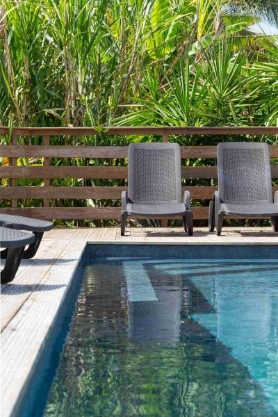 Logement avec piscine Guadeloupe