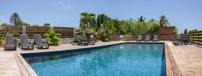 bungalow guadeloupe avec piscine